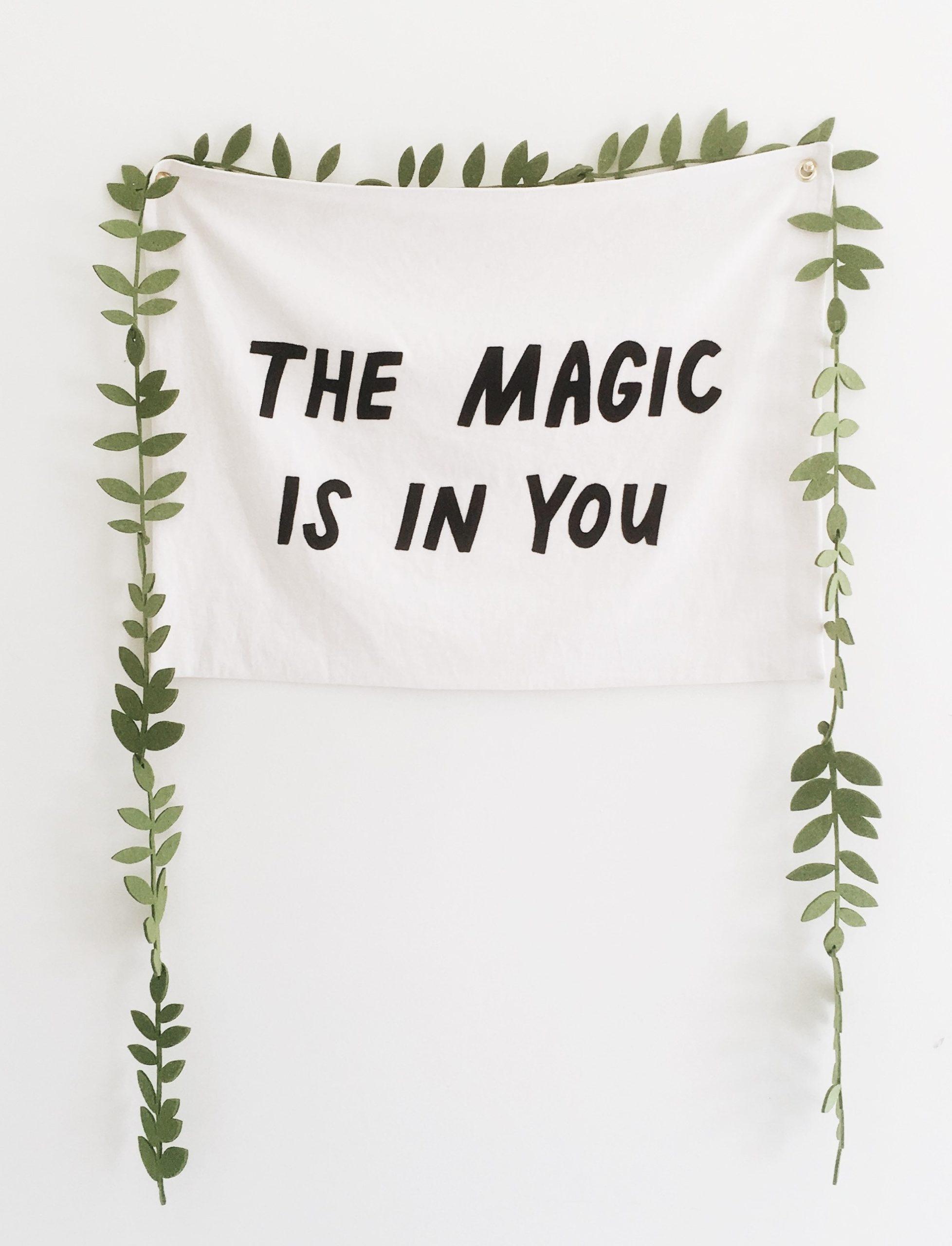 魔法はあなたの中にある